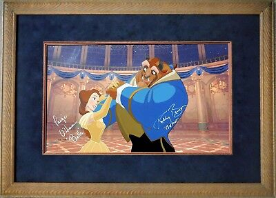 Disney Beauty and the Beast BALL ROOM DANCING hand painted cel limited COA