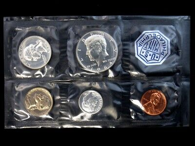 Accented Hair 1964 Proof Set in Sealed Original US Mint Packaging Kennedy Silver