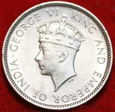 Uncirculated 1937 Hong Kong 10 Cents Foreign Coin
