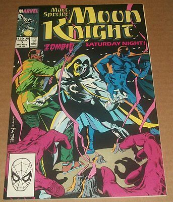Marc Spector: Moon Knight #7 VF/VF+ (1989) Brother Voodoo Appearance