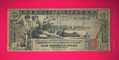 1896 Large Silver Dollar Certificate Note (Educational Note)