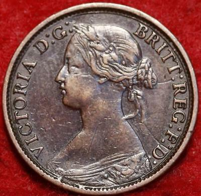 1862 Great Britain Farthing Foreign Coin