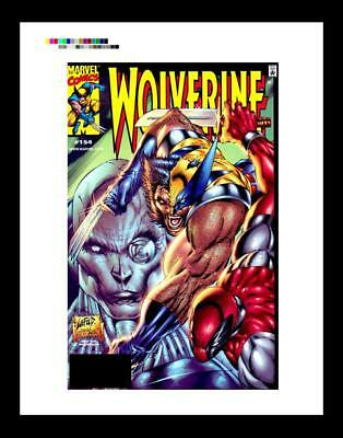 Rob Liefeld Wolverine #154 Rare Production Art Cover