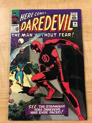 Daredevil #10 (Oct 1965, Marvel) Mid Grade Originial Owner Must See Pics!