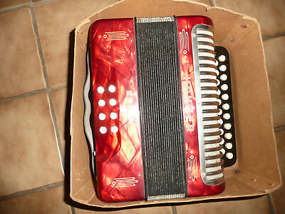 Hohner Erica Diatonic Accordion Akkordeon, Key C-F