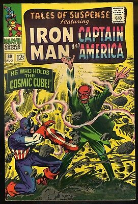 Tales of Suspense #80 VF+  Classic Red Skull Cover