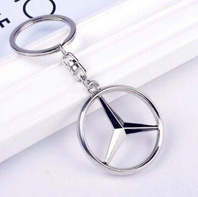 1PCS Car Keychain Part Collect KeyRing key chain gob For Mercedes-Benz Style