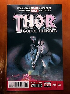 THOR GOD OF THUNDER #6 1st APPEARANCE OF KNULL GOD OF THE SYMBIOTES!