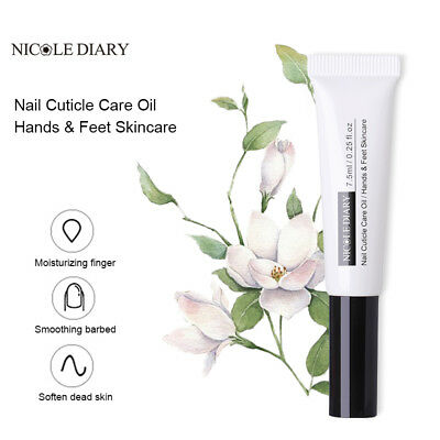 7.5ml NICOLE DIARY Nail Nutrition Oil Natural Fruit Flavor Cuticle Oil Nail Art