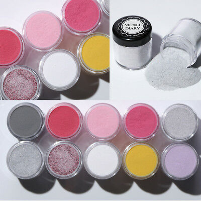 NICOLE DIARY Nail Dipping Acrylic Powder Shiny Glitter Dust Nail Art Pro Polish