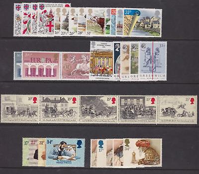 G.b. - Complete 1984 Commemorative Year Set Unmounted Mint - (9 Sets)  (Ref.a2)