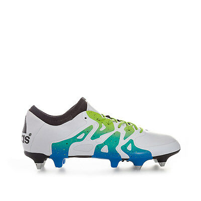 Mens adidas Mens X 15.1 SG Football Boots in White
