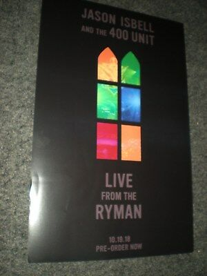 POSTER by JASON ISBELL and the 400 unit LIVE FROM THE RYMAN for the band promo #