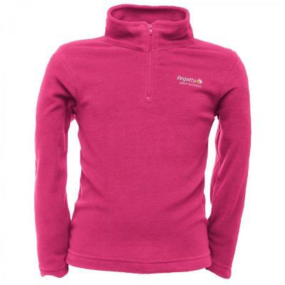 Bnwt New Girls Regatta Pink Fleece Top 5/6 7/8 11/12 Yrs Jacket Thermals Jumper