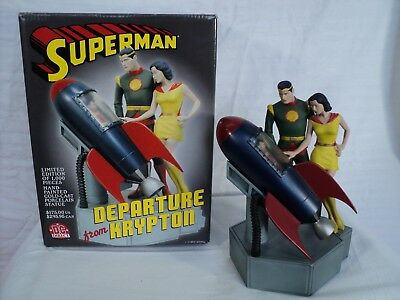 DC Direct Superman: Departure from Krypton FULL SIZE statue! By Paquet (T 245)