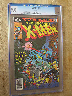 X MEN # 128  US MARVEL 1979 John Byrne CGC 9.0 VFN-NM