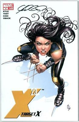X-23 Target X #1 Df Dynamic Forces Signed Mike Choi Coa Marvel Logan Movie