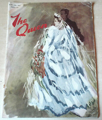 THE QUEEN [Magazine] 25th June 1947-Scarce Early Postwar Issue