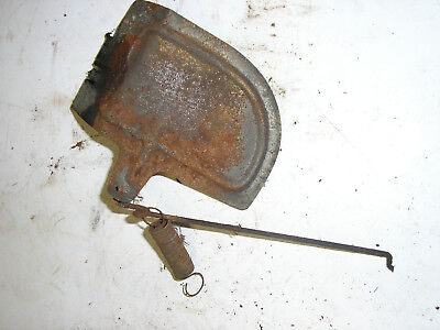 Suffolk Colt (early model) governor vane and linkage for cast iron engine