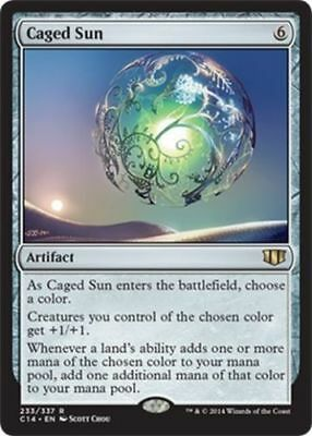 Caged Sun - Commander 2014 - C14 - Mint - Magic the Gathering - MTG