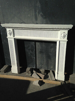 Reproduction plaster late Georgian/early Victorian surround - SOLD AS SEEN