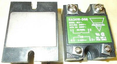 Electromatic Ra2410-D06 240Vac / 3-32Vdc Solid State Relay