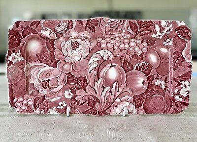 Myott Son & Co APPLETIME Chintz Sandwich / Cake Serving Tray