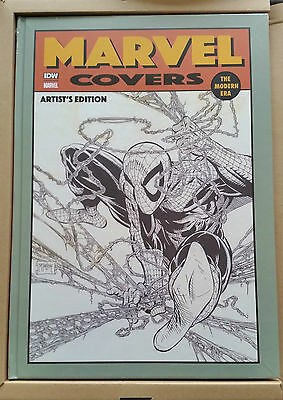 Modern Marvel Covers (Todd McFarlane Cover) Sealed & NEW OOP HC Hardcover IDW