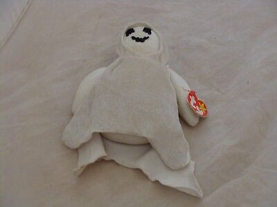 Ty Beanie Babies - 1999 SHEETS the Halloween Ghost