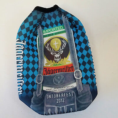 Jagermeister Coozie OKTOBERFEST 2012 for 750ml Bottle - Exc Cond + Free Ship