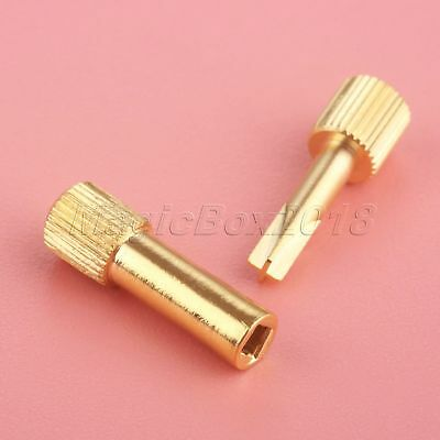 Dental Oral Care Screw Posts Key Wrench Hollow NLH Key & Cross NLK Key 2Pcs