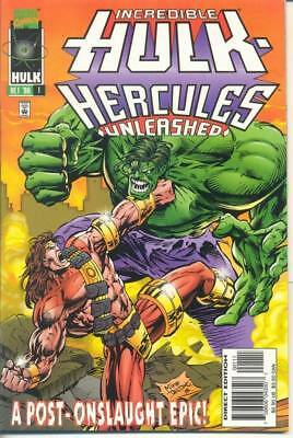 Hulk- Hercules -  Unleashed One-Shot from 96