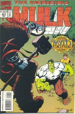 Incredible Hulk 421 From 1994