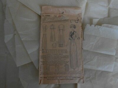 Victorian Fitted Peasant Dress The Home Pattern Co. Ladies Home Journal Antique