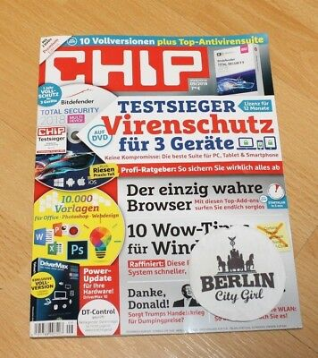 CHIP Magazin 09/2018 + 2 DVDs PREMIUM EDITION   **NEU**NEW**