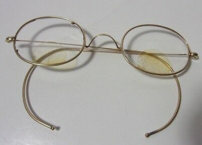 3ae165ffd7c3 Vintage Oval Gold Filled Eyeglasses by Hardy ...
