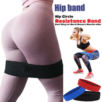 HIP CIRCLE Glute Resistance Band Hip Exercise Heavy Duty Bands  Gym Fitness HG