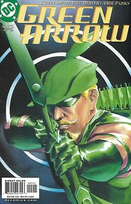 Green Arrow Comic Issue 15 Modern Age First Print 2002 Kevin Smith Hester Parks