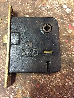 Sargent Mortise Door Skeleton Lock Hardware Brass Vintage Antique