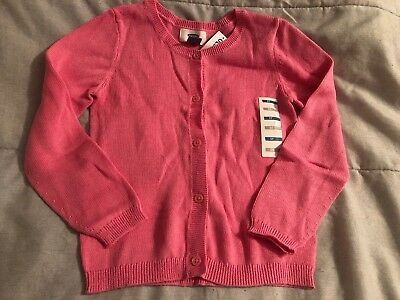 Old Navy Toddler Girl Cardigan Sweater Size 5T Nwt!