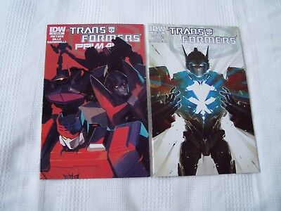 Transformers Primacy (IDW) ISSUES 1 AND 2