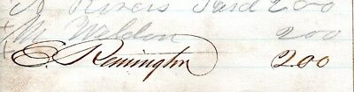 Eliphalet Remington, famed gun maker, signed petition for a skating club