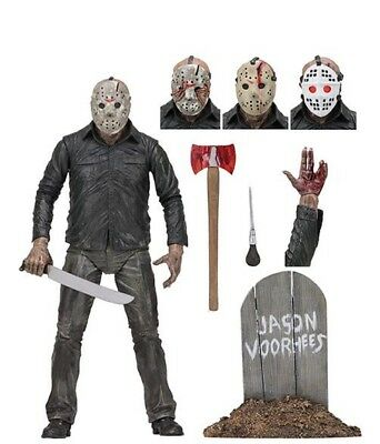 """NECA Friday the 13th Ultimate Part 5 Jason Voorhees 7"""" Scale Action Figure NEW"""