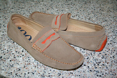 51844c958d2 Mens 1901 Shoes Driving Moccasin Light Brown Suede Size 11 M71513 Lknew  Leather