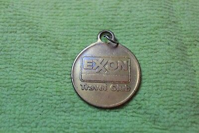 Key Ring Fob-Exxon Travel Club-Key Return Fob