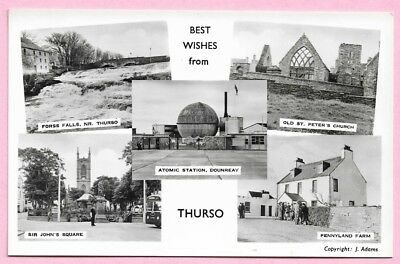 [10974] Caithness R/P Postcard Multiview Of Thurso
