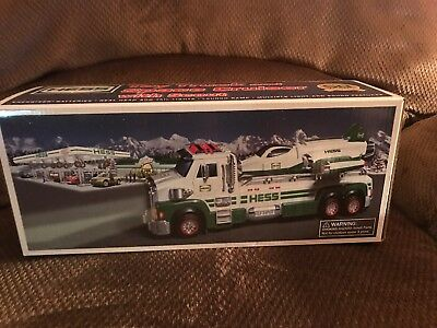 Hess Toy Truck And Space Cruiser With Scout 2014 New In The Original Box
