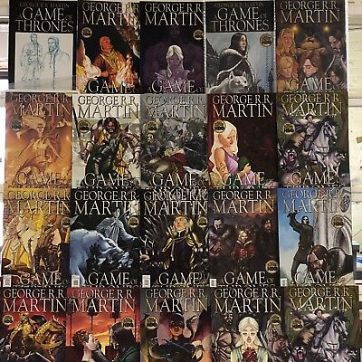 Game of Thrones Comics Huge Lot 20 Comic Book Collection Set Run