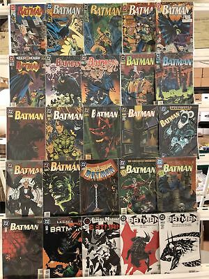 Batman Comics Huge Lot 25 Comic Book Collection Set Run Books Box 5
