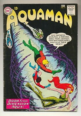 Aquaman #11 (1963) Very Good (4.0) 1st Appearance Mera ~ Nick Cardy